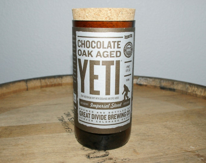 UPcycled Stash Jar - Great Divide - Chocolate Oak Aged Yeti