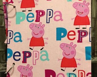 Peppa Pig Scrapbook
