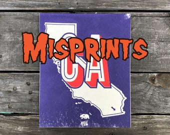 California Misprint