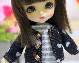 Jean Jacket For  Lati Yellow / Pukifee  #L028