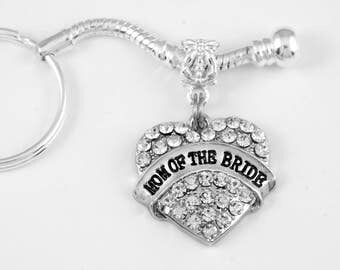 Mom of the Bride Jewelry Mom of the Bride keychain  Bridal Gift  Mother of the Bride Keychain Mother of the Bride Jewelry