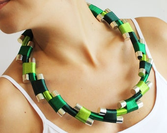 Handmade Jagged Necklace