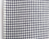 Blue and white gingham co...