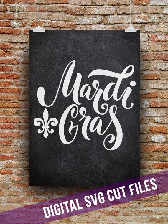 Mardi Gras Svg Cutting File Vinyl Cutting Decal Wine Glass