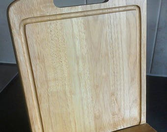 Chopping Board Recipe Book Stand