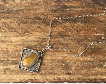 Sterling Silver Mookaite Necklace