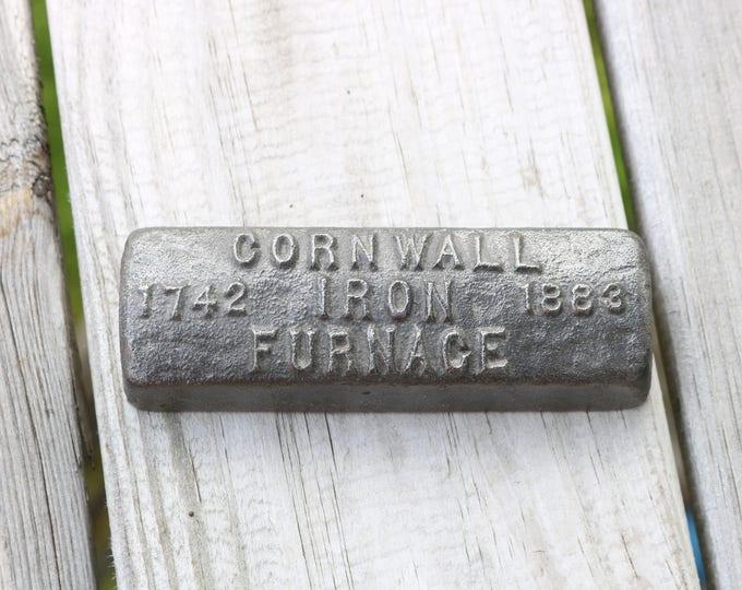 Cornwall Iron Furnace paper weight