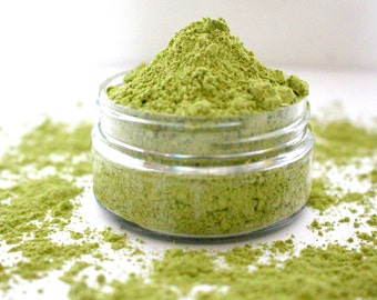 50% OFF Organic Matcha Face Mask; Green Tea Face Mask, Matcha Clay Mask, Antioxidant Anti aging Face Mask. Customizable Face Mask