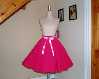 CLEARANCE SALE !!! circle skirt .