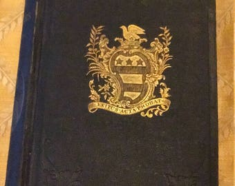 1867 Washington and his Masonic compeers. VERY RARE BOOK.