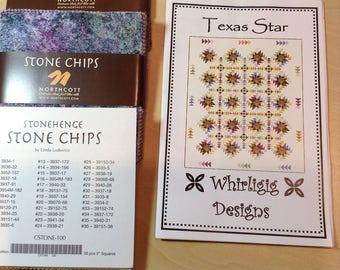 "Northcott Stone Chips C-Stone100, 5"" charm squares"