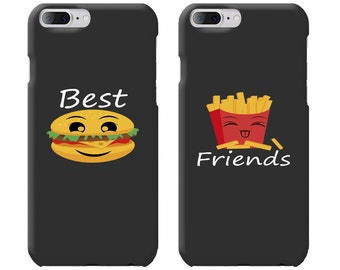 Best Friends Phone Case Mate - iPhone, Samsung Galaxy Phone Cases for BFF - Matching Phone Case
