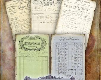 Vintage Ephemera Tags