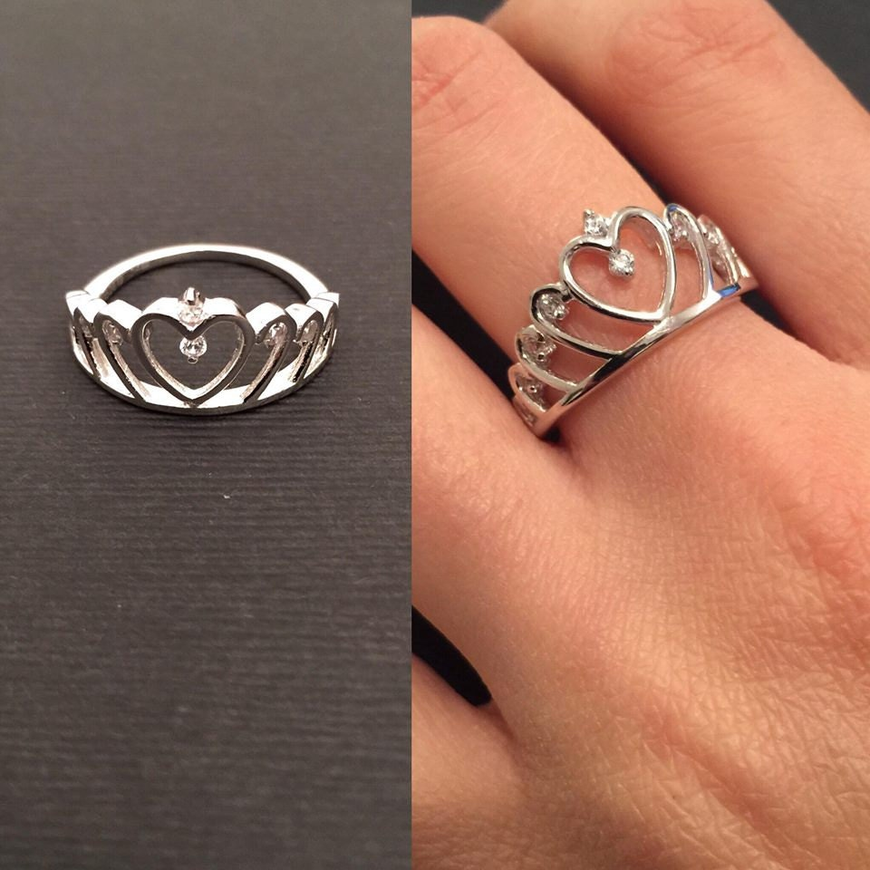 Crown Ring Princess Ring Crown Rings Bridesmaid Ring