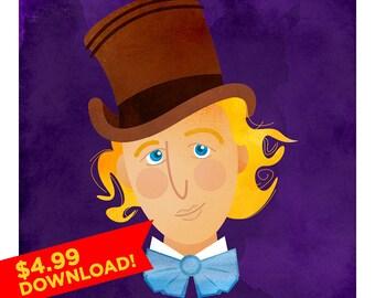 Portrait of a Wonka: Willy Wonka