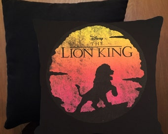Lion King mini pillow
