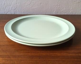 Pistachio melamine plates by Prolon *Reduced*