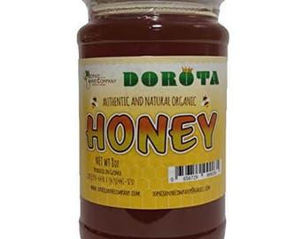8oz Pure Raw Honey