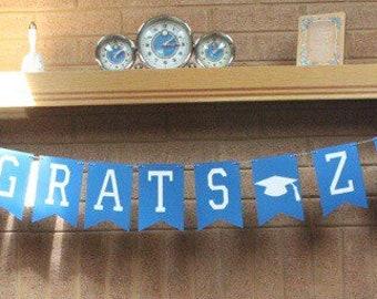 Custom Graduarion Banner! Congrats Grad Banner