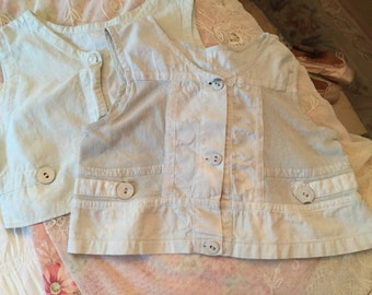 Antique French Child Camisoles Shirts