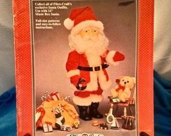 Vintage Fibre Craft Santa Claus Booklet