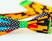 READY TO SHIP/ African Print, Kente, Bow Tie, Afican Fashion, African print bow tie, Tie