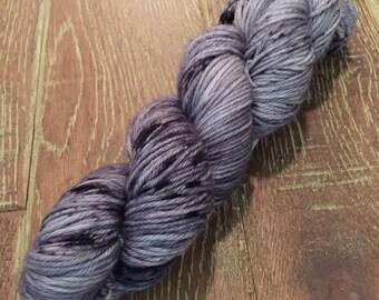 Hand Dyed Superwash Merino DK/Light Worsted Yarn Wool, 100g/3.5oz, 'Nostalgia's For Geeks'