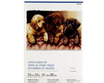 Lab Puppies Latch Hook Kit Pre-Order