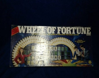 Wheel of Fortune 1986 Board game