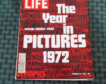 Life Magazine December 29, 1972 Edition