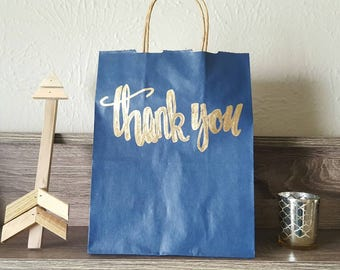 Thank you gift bags, Custom Gift Bags, Bridal Party Gift Bags, Wedding Gift Bags, Wedding Guest Gift Bags, Personalized Gift Bags