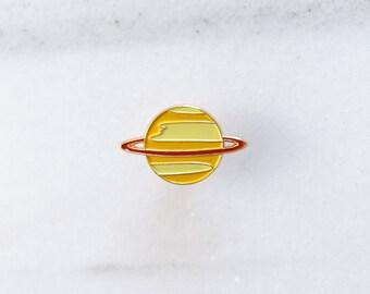 SATURN Pin - Enamel Pin, Lapel pin.