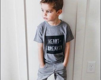 heart-breaker kids tee