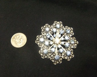 Multi flower brooch