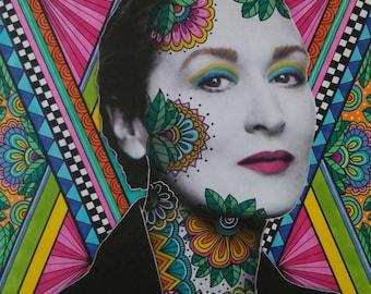 Meryl Streep Art Print