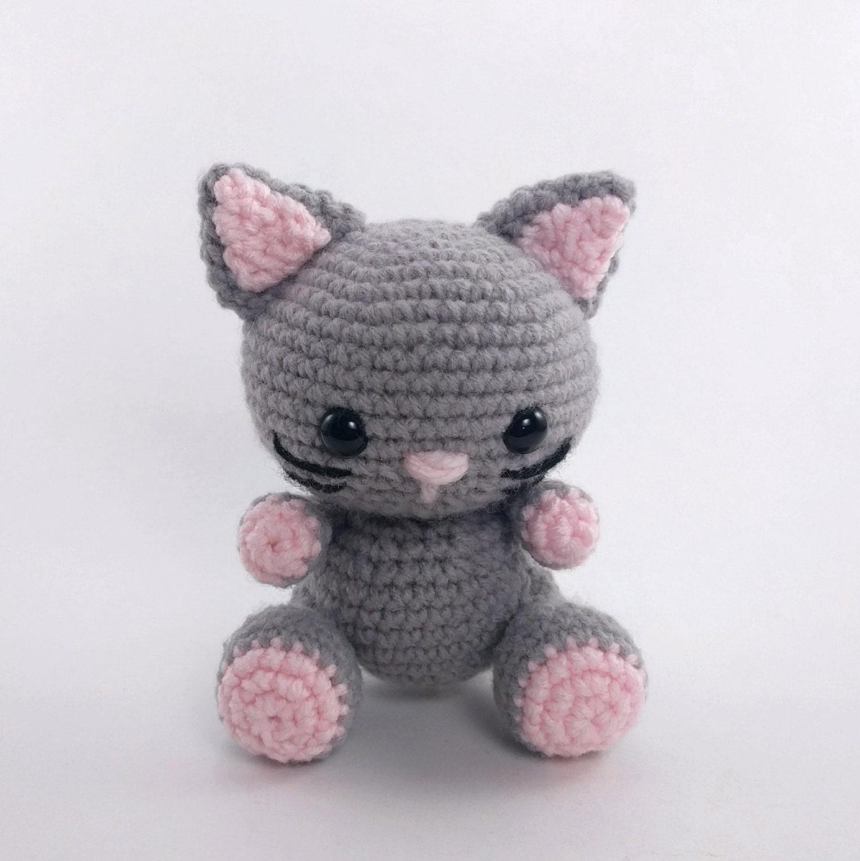 Amigurumi Cat Toys : PATTERN: Crochet cat pattern - amigurumi cat pattern ...