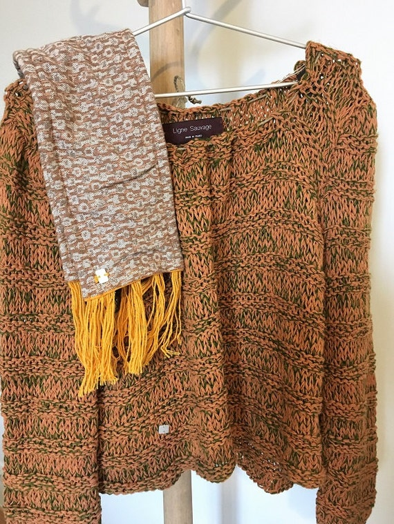 sweater wool and cotton