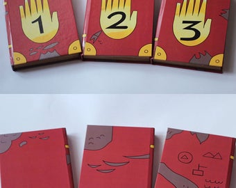 SALE Gravity Falls Journal Number 1. 2, 3.