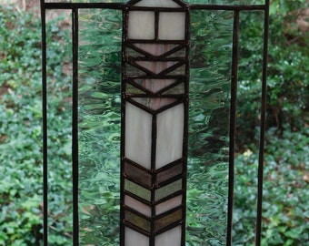 Stained Glass Mission Light