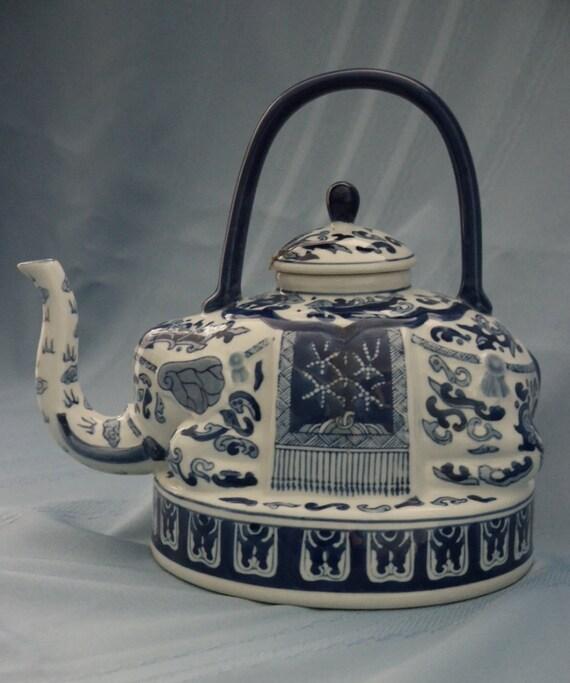 Items similar to Bombay Company Elephant Teapot Ceramic ...