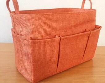 LV PURSE ORGANIZER, Bag Organizer Insert, Organizer Bag, purse organizer, Cosmetic Bag, Plaid bag, Storage bin, Organizer bin, Toy Storage