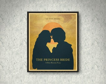 The Princess Bride Movie Poster Print, Home Decor, Print Art Poster