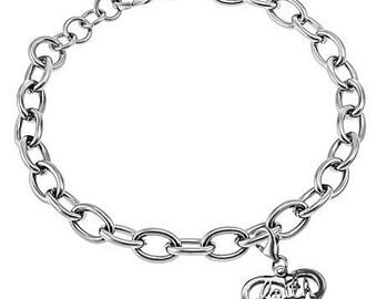 """Heart Bracelet """"Faith"""""""