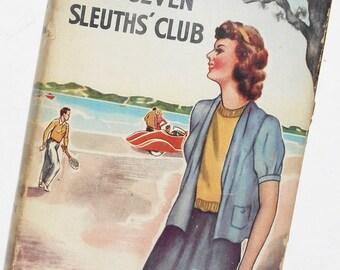 The Seven Sleuth's Club, Carol Norton, 1928, Vintage Book
