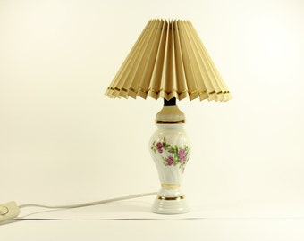 Electric lamp with umbrella 70s vintage made in Germany