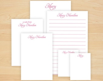 Personalized Memo Pad Set - 3 sizes - 600 Sheets - 2790