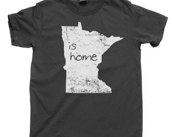 Minnesota T Shirt Native Born Minnesotan MN Home State Tee Vikings Twins Minneapolis St Paul Duluth College Tee Souvenir Family Reunion Gift
