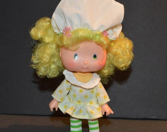 Vintage 1980's Lemon Meringue Doll from the Strawberry Shortcake Collection