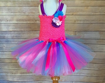 Unicorn costume - unicorn tutu -  girls dress up - gifts for girls - unicorn dress - pink and purple tutu - unicorn tutu dress - Christmas