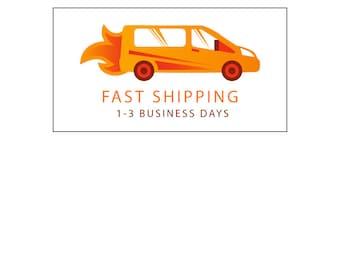 FAST SHIPPING - 1-3 Business Days - International